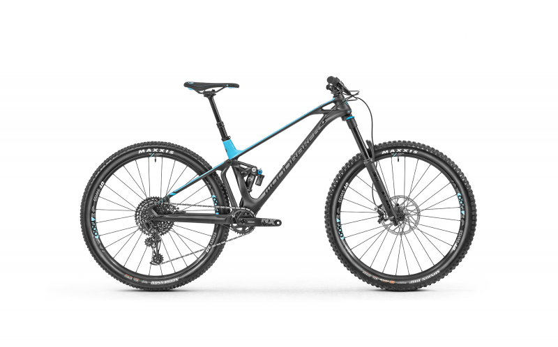 MONDRAKER FOXY CARBON R 29, black phantom/light bl size M