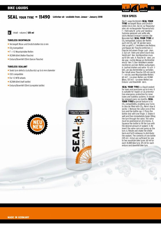 Servis bicykla - Seal your tyre 125ml