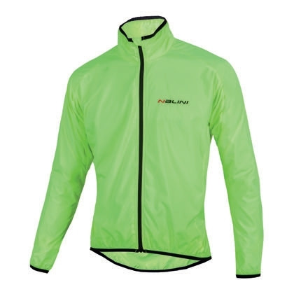 BUNDA ARIA WINDPROOF JACKET GIALLO FLUO -