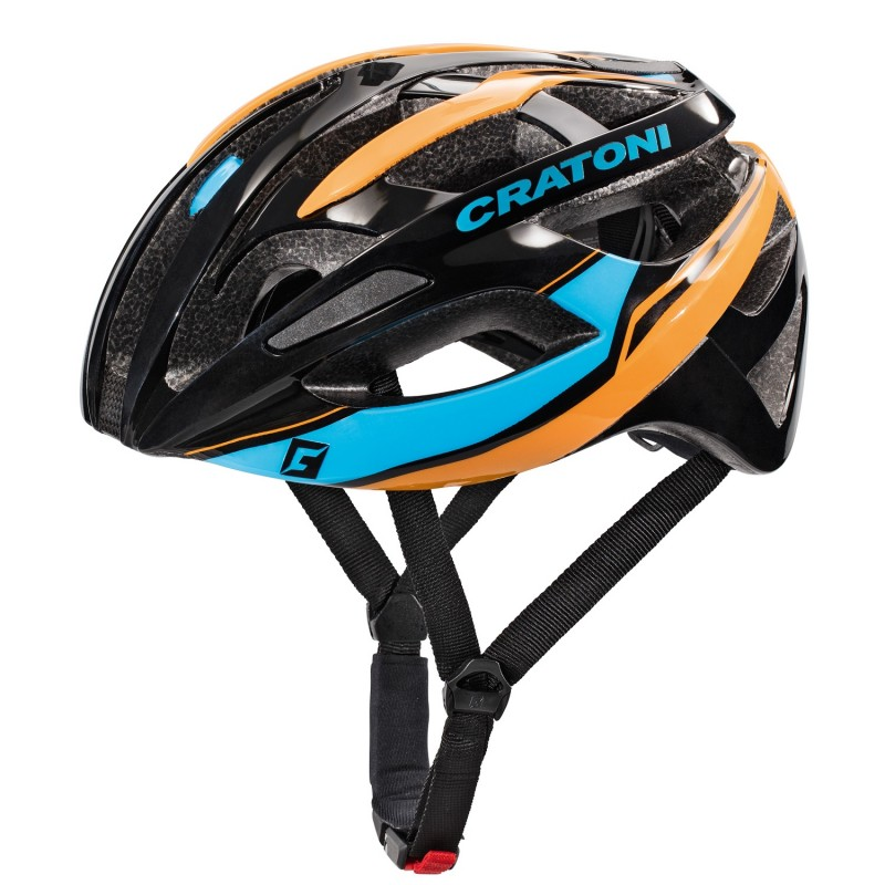C-Breeze black-blue-orange glossy