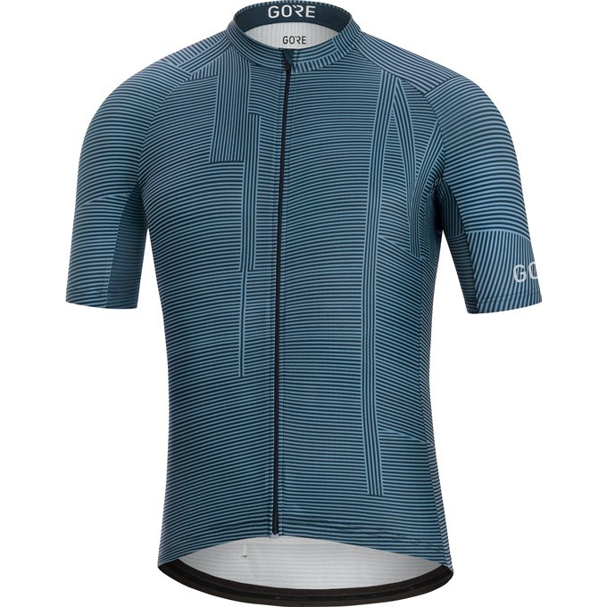 GORE C3 Line Brand Jersey-deep water blue/orbit blue-M