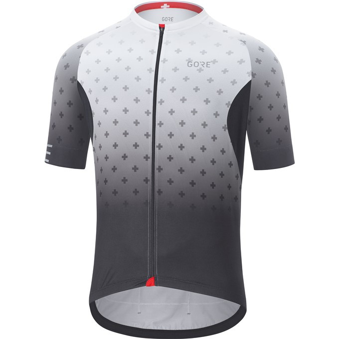 GORE C5 Jersey Limited Edition-black/white-XL
