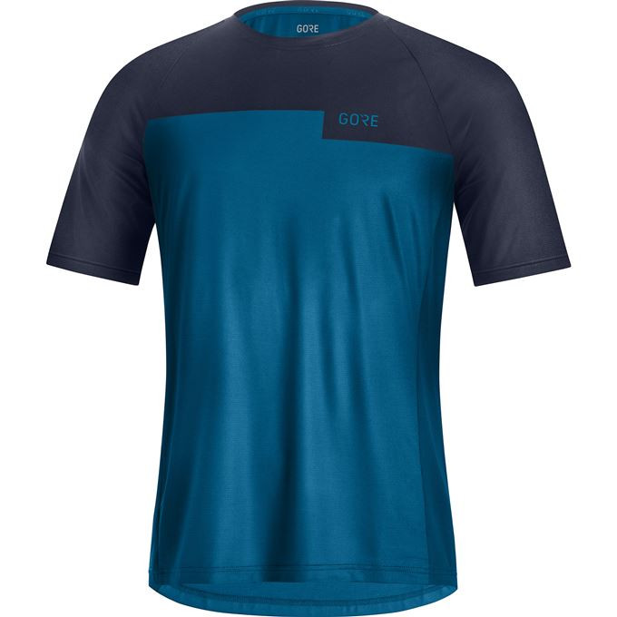 GORE Wear Trail Shirt Mens-sphere blue/orbit blue-XL