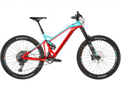 MONDRAKER DUNE R 27,5, flame red/light blue, size L