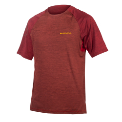 Endura SingleTrack SS T, Red