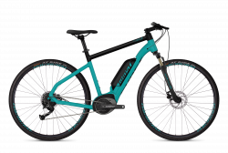 GHOST Ebike Square Cross B1.8 Electric Blue / Jet Black