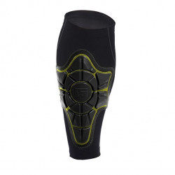 G-Form Pro-X Shin Pad-black/yellow-L