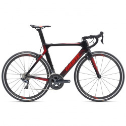 GIANT Propel Advanced 1-M19-L-carbon/pure red