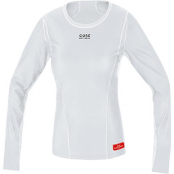 GORE Base Layer WS Lady Thermo Shirt long-light grey/white-40