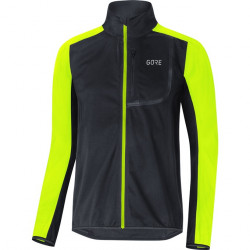GORE C3 WS Jacket-black/neon yellow-M