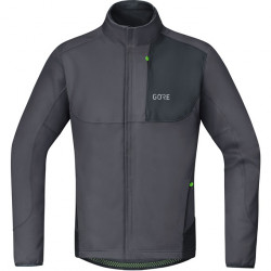 GORE C5 WS Thermo Trail Jacket-terra grey/black-XL