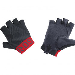 GORE C7 Short Finger Pro Gloves-black/red-9