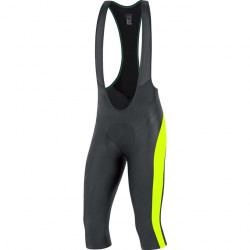 GORE Element Bibtights 3/4+-black/neon yellow-M