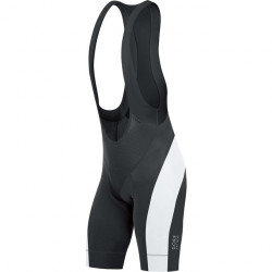 GORE Power Bibtights short+-black/white-XXL
